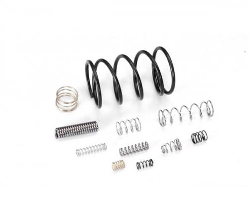 Vortex coil spring
